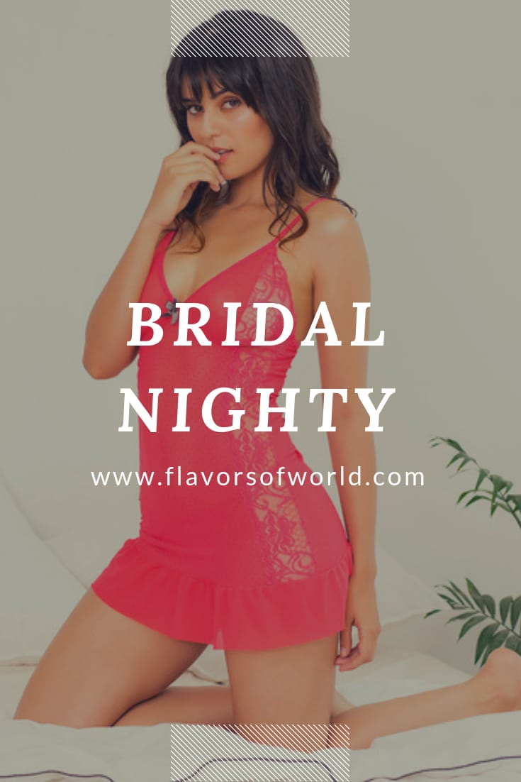 Bridal nighty by zivami