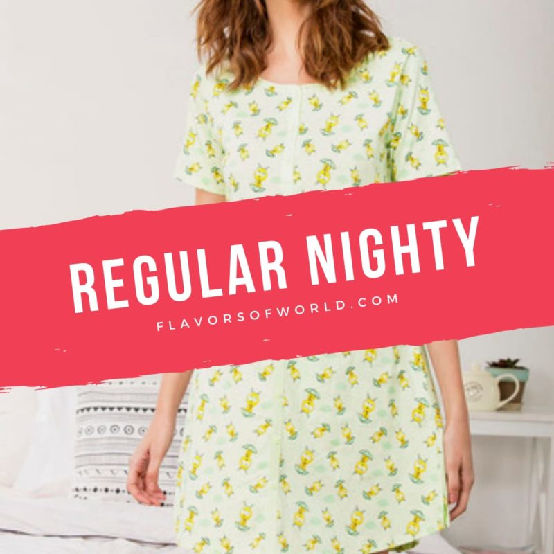 Regular nighty you can buy from zivami